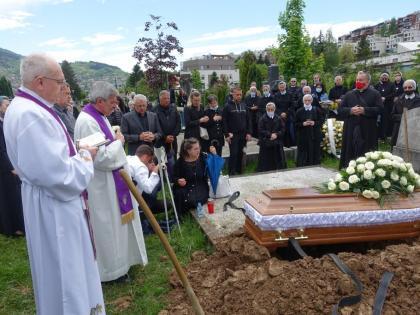 Sahranjena s. M. Lidvina (Manda) Matanović, članica Družbe sestara Kćeri Božje ljubavi (1)