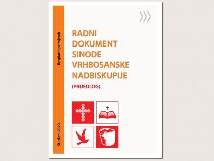 Prijedlog radnog dokumenta Sinode Vrhbosanske nadbiskupije